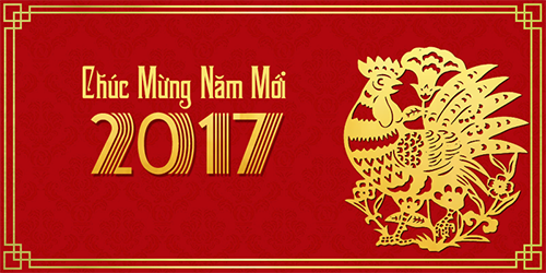 Thông báo nghỉ Tết Âm lịch xuân Đinh Dậu 2017