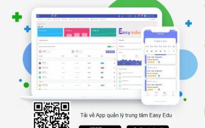 Hướng dẫn tải App quản lý trung tâm Easy Edu