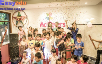 Anh ngữ Achievers English – Handprint of success