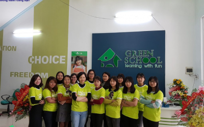 Trung tâm anh ngữ Green School – Learning with fun