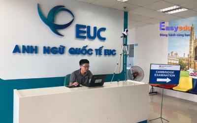 Trung tâm anh ngữ quốc tế EUC bay cao chuẩn Cambridge