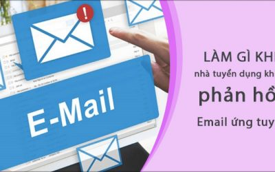 Làm gì khi nhà tuyển dụng không phản hồi email ứng tuyển