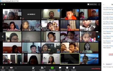 Sử dụng phần mềm Zoom Meeting để dạy học Ngoại ngữ Online