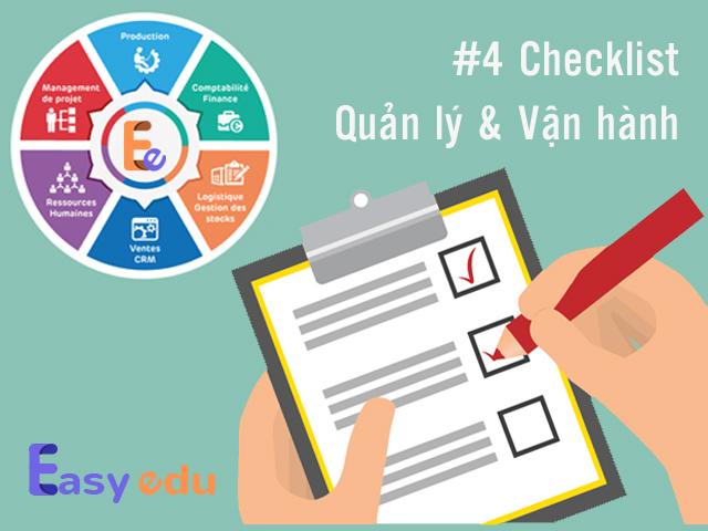 ✔4 checklists quản lý và vận hành trung tâm ngoại ngữ thành công