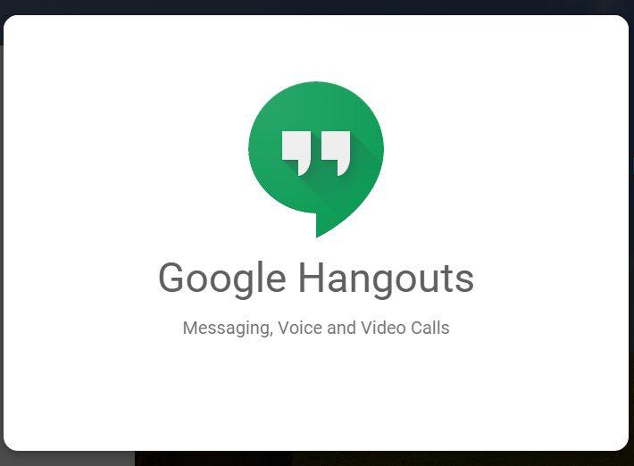 Phần mềm Google Hangouts