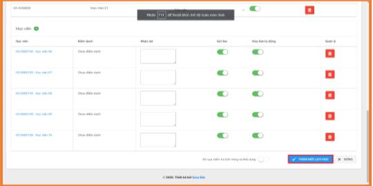 Hướng dẫn dạy học online trên phần mềm Easy Edu(2)