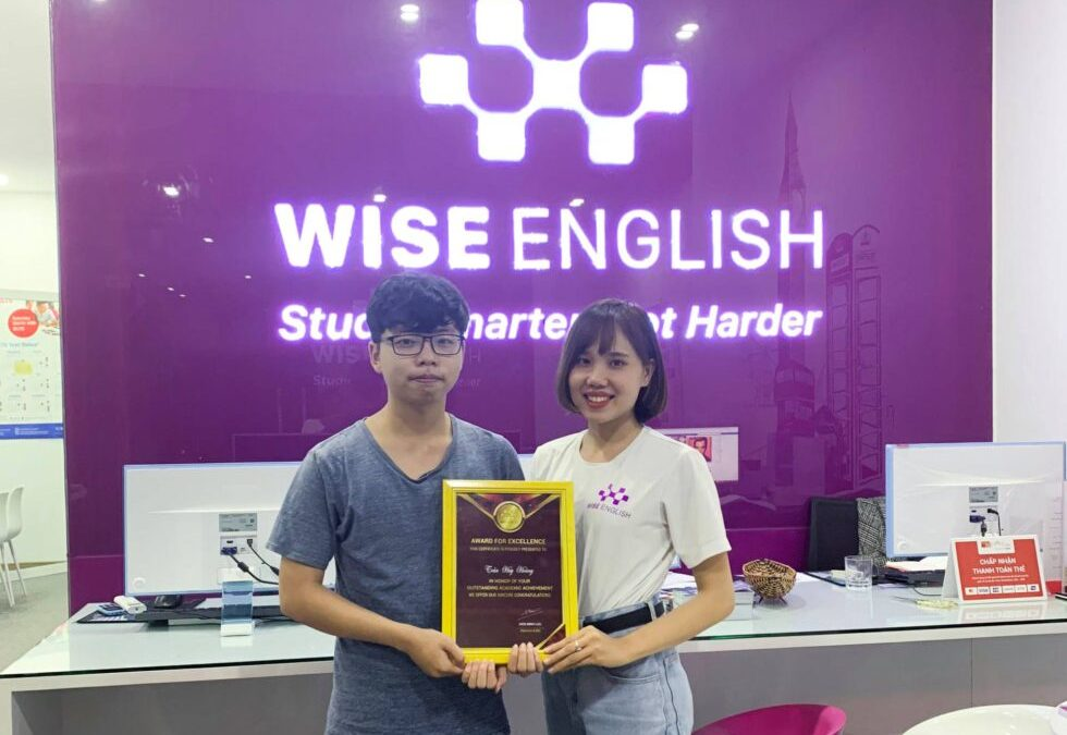 Trung tâm anh ngữ Wise English – Study smarter, not harder