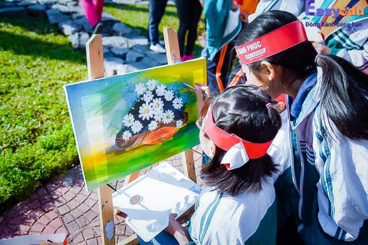Thế giới mỹ thuật World Art – vẽ lên thành công cùng Easy Edu