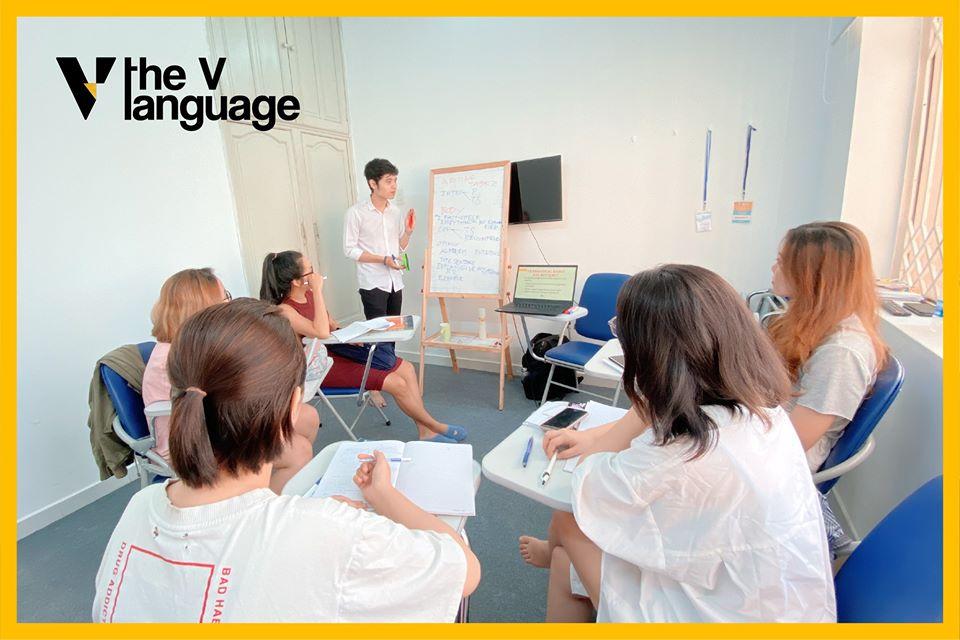 The V language – Trung tâm Anh ngữ kết nối vàng
