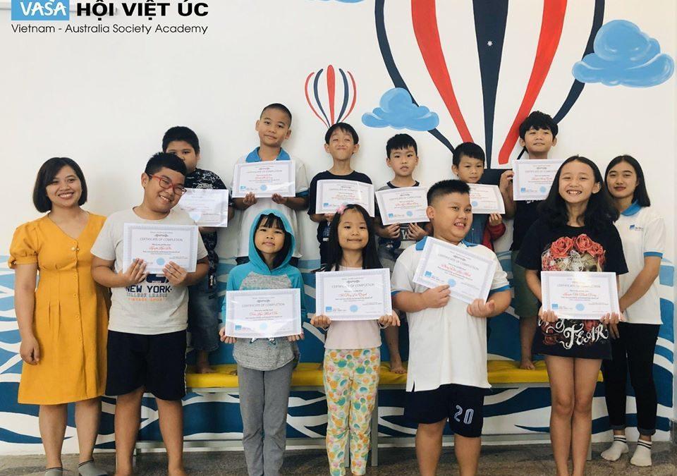 Anh văn Hội Việt Úc – VASA – Đồng hành cùng bé – Vững bước tương lai