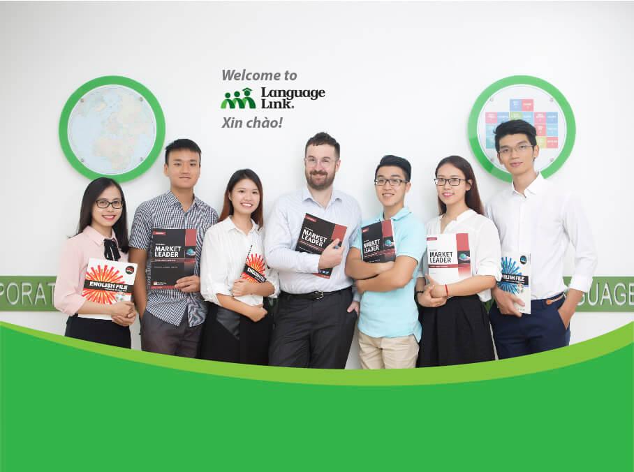 Trung tâm ngoại ngữ Language Link Hà Giang – Học ở đây – Graduate anywhere