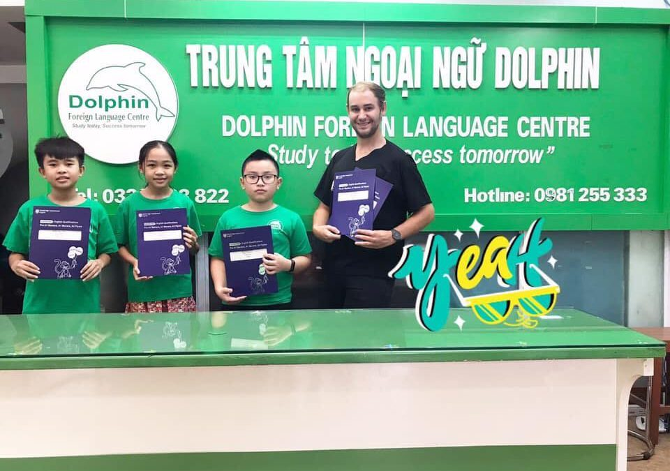 Ngoại Ngữ Dolphin Hạ Long – Study Today – Succeed Tomorrow