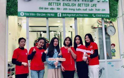 Anh Ngữ Kid's A Yên Viên – Better English Better Life