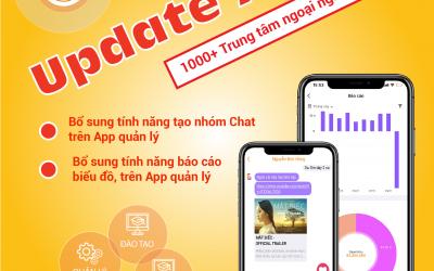 Liên tục update tính năng HOT trên App Easy Edu và App Easy Edu Manager
