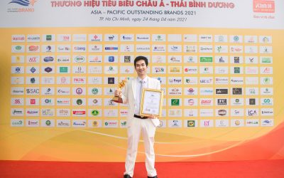 """Giải thưởng """"Top 10 Thương hiệu tiêu biểu Châu Á – Thái Bình Dương 2021"""" – Easy Edu vươn mình mạnh mẽ"""