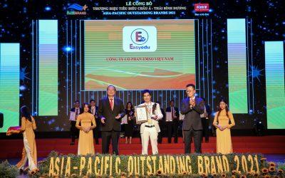 Công ty cổ phần EMSO Việt Nam đạt chứng nhận: Top 10- Thương hiệu tiêu biểu châu Á- Thái Bình Dương